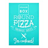 YeulionCraft DIY Self-Adhesive Silk Screen Printing Stencil, Phrase Sign Pattern for DIY Home Decor, T-Shirt, Pillow Fabric, Painting on Wood, Reusable Stencils, Round-Pizza