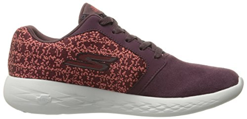 Skechers Performance Womens Go Run 600-15060 Scarpa Da Corsa Bordeaux