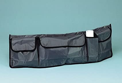 Lampa - Bolsa de almacenamiento organizador para maletero del coche suv camper con bolsillos, tamaño 98x30cm