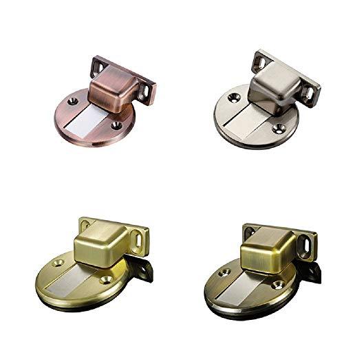 - Door Holder Catch Zinc Alloy Casting Floor-Mounted Magnetic Door Stopper Door Stops Floor Suction for Furniture Hardware