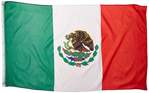 mexico flag polyester