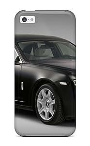 Hot Tpu Cover Case For Iphone/ 5c Case Cover Skin - Rolls Royce Ghost 9 wangjiang maoyi