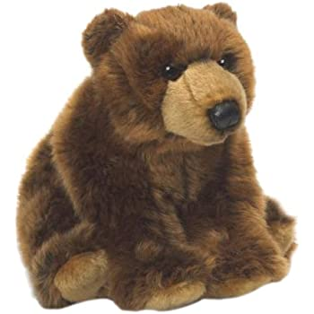 WWF 15184005 Brown Grizzly Bear Plush Toy 23 cm