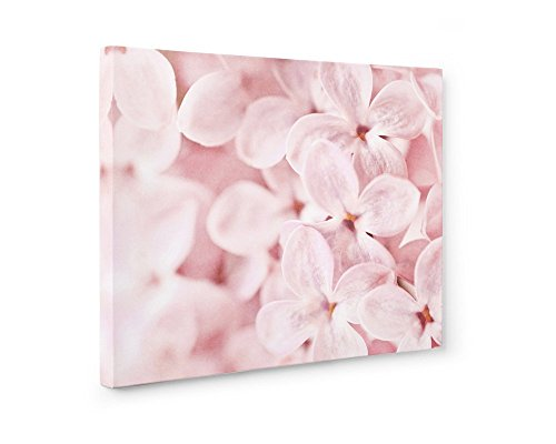 Large Format Print, Canvas or Unframed Pink Lilac Art, Blossom Flower Print, Floral Wall Decor, Botanical Flower Picture, Girls Bedroom Art, Bed of Lilacs'