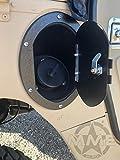 HUMVEE/HMMWV HUMMER H1 LOCKING FUEL DOOR