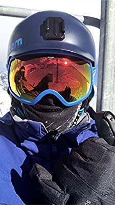Running Camping Outdoor Sports Ski Mask and Headband for Snowboarding Arctic Aura Black Storm Multifunctional Scarf Hiking