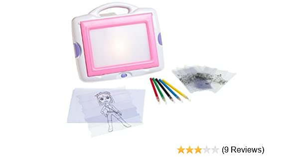 Amazon Com Totally Me Funky Fashion Tracing Desk Toys Games