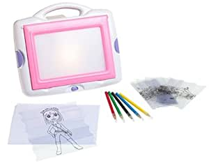 Amazon Com Totally Me Funky Fashion Tracing Desk Toys