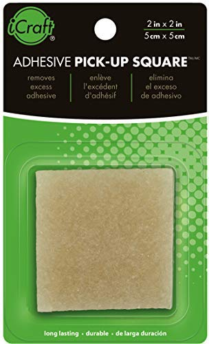 """iCraft Adhesive Eraser and Pick-up Square, 2"""" x"""