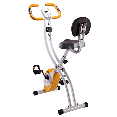 Ultrasport Heimtrainer F-Bike 200B, Weiß/Orange, 331400000071