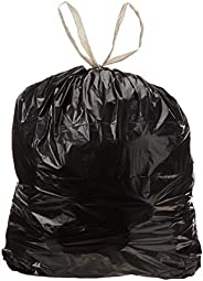 AmazonCommerical Large Trash Bags - 30 Gallon - 1.2 MIL - Pine Scented - 120 Count