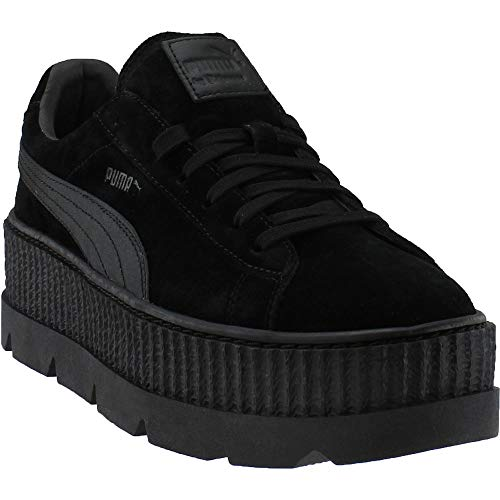 PUMA Select Men's x Fenty by Rihanna Cleated Creeper Suede Sneakers, Puma Black, 12 D(M) US