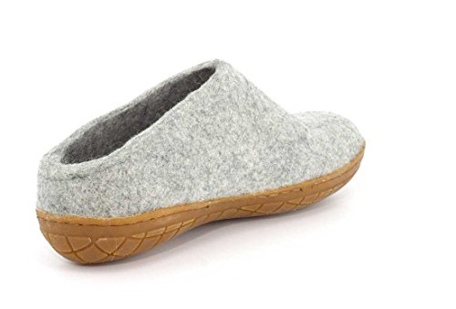 Glerups Women Rubber Slipper Grey 0lWIW