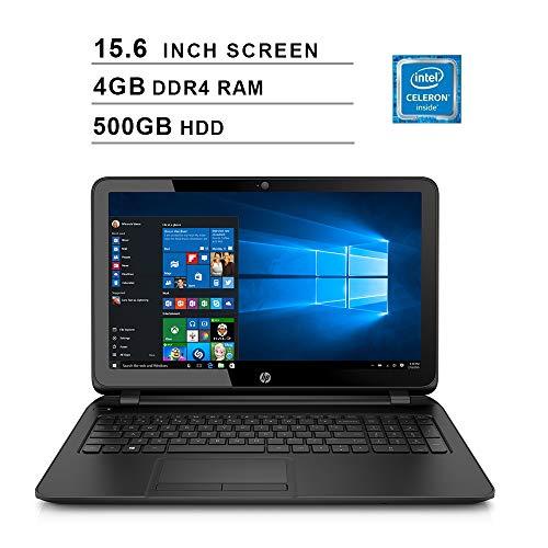 2019 Premium Flagship HP Pavilion 15.6 Inch HD Laptop (Intel Celeron N2840, 2.16GHz up to 2.58GHz, 4GB RAM, 500GB HDD, DVDRW, WiFi, Bluetooth, HDMI, Windows 10 Home) (Renewed) (Best $500 Laptop 2019)