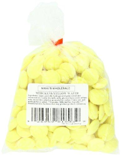Merckens Chocolate Wholesale - Merckens Coatings, Yellow,1 Pound