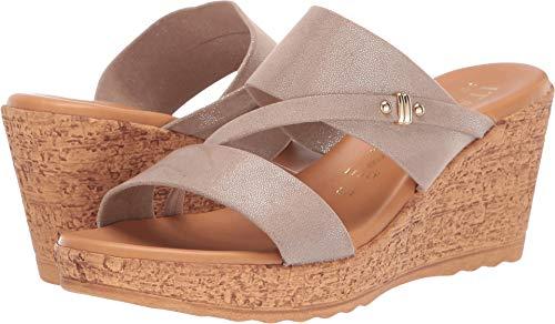 ITALIAN Shoemakers Women's, Adriane Sandals Taupe 7.5 M