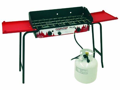 Pro 2 Burner Propane Stove Red/Black, Outdoor Stuffs