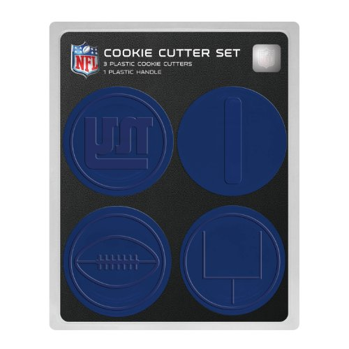 NFL New York Giants Officially Licensed Set of Cookie Cutters