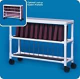 Notebook Chart Rack - Holds 20 Ring Binders - NCR20L - Large: 37'' H x 48'' W x 14.5'' D