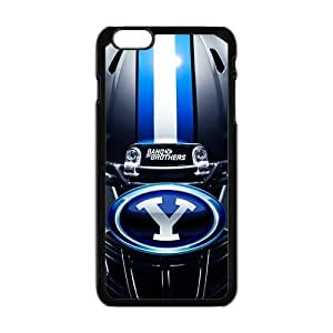 Generic Custom Unique Otterbox You Deserve--Brigham Young University NCAA BYU Cougars Teams Logo Plastic Case Cover for the iPhone6 Plus 5.5""