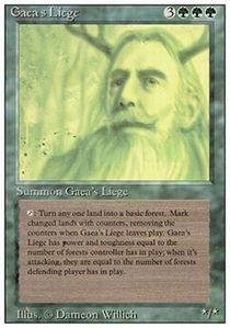 Magic: the Gathering - Gaea's Liege - Revised Edition