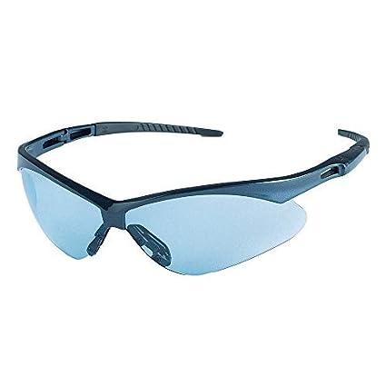 7dd97bf1a54b Image Unavailable. Image not available for. Color: Jackson Safety 3011373  V30 Nemesis Safety Glasses Blue Frame / Light Blue Lens(19639)