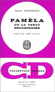 Paméla ou la vertu récompensée par Richardson