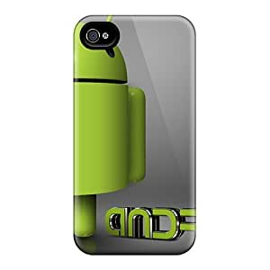 High-end Case Cover Protector For Iphone 4/4s(andrioid By Sareth)