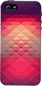 DailyObjects Abstract Illusion Case For iPhone 5/5S Multicolored