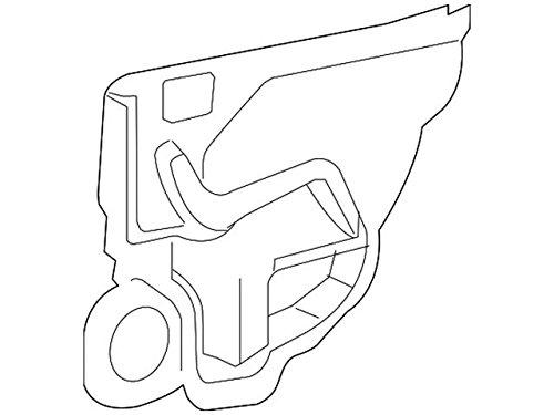 Nissan Genuine 82861-JA000 Door Deflector