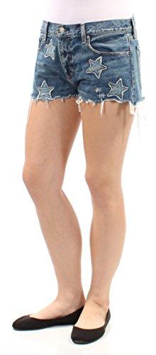 RALPH LAUREN Denim & Supply Women's Embroidered Boyfriend Shorts (Knox, 29) by RALPH LAUREN