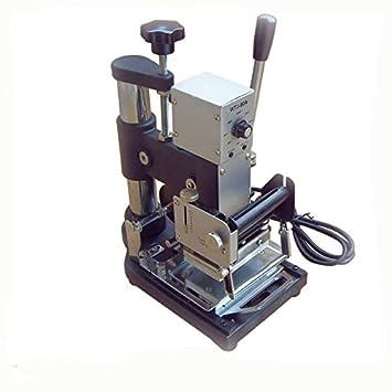 Máquina manual de grabado-Máquina para grabar en relieve la tarjeta PVC-álbum de