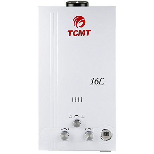 TC-Home Natural Gas Instant Tankless Hot Water Heater 4.2 GPM Boiler House (Natural Gas-16L)