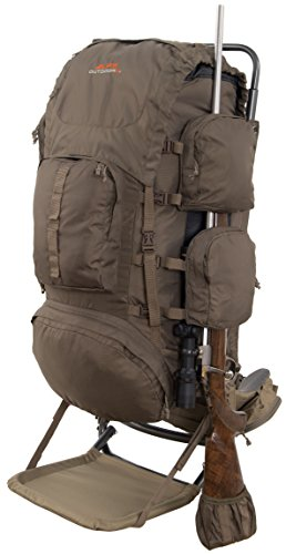 External Frame Backpack (ALPS OutdoorZ Commander + Pack Bag)