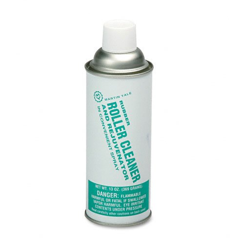 Martin Yale : Rubber Roller Cleaner for Martin Yale Folders, 13-oz. Spray Can -:- Sold as 2 Packs of - 1 - / - Total of 2 Each