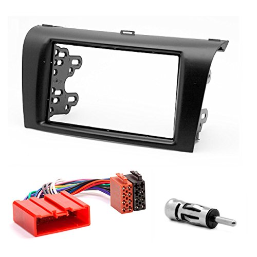 CARAV 11-081-15-6 2-DIN car head unit fascia facia installation dash kit for MAZDA 2004-2008; Axela 2006-2008 3