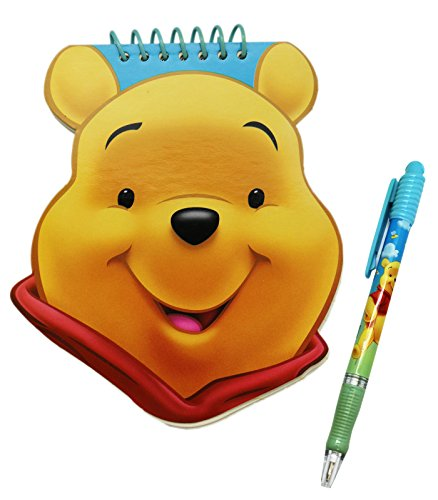 Disney's Winnie the Pooh Face Notepad and Pen Set - Pooh Notepad