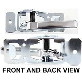 oldsmobile cutlass ciera 82 96 front door handle left inside w rear automotive. Black Bedroom Furniture Sets. Home Design Ideas