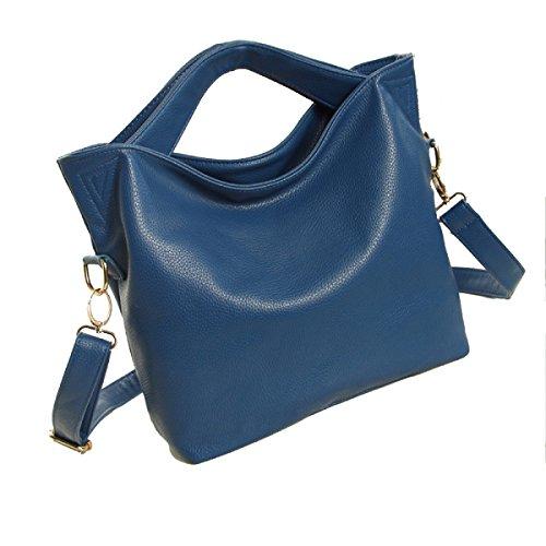 Portátil De Hombro Diagonal Del Paquete Sra. De La Moda Blue
