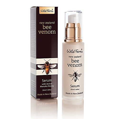 - Wild Ferns New Zealand Bee Venom Serum with Active Manuka Honey 50ml /1.69 fl oz
