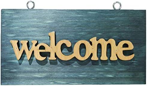 Ysoom Vintage Türschilder Holzschild Dekoschild Welcome ...