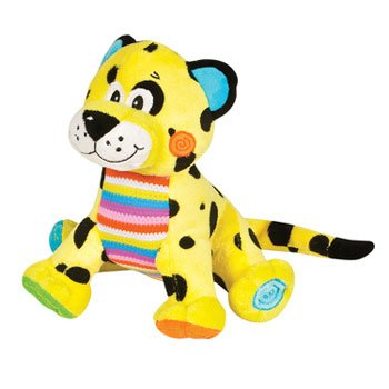 Rhode Island Novelty Button Bunch Leopard Plush Stuffed A...