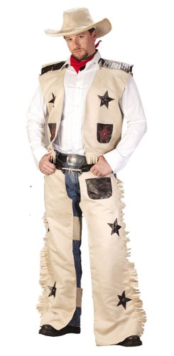 Fun World Men's Cowboy Costume, Multi -