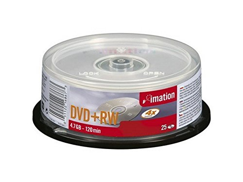 Imation Corp 25PK 4X DVD+RW Spindle (16867)
