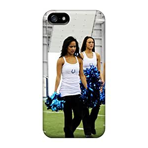 Awesome Design Indianapolis Colts Cheerleaders Tryout Nfl Hard Case Cover For Iphone 5/5s