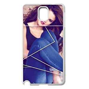 Selena Gomez Customized Case for Samsung Galaxy Note 3 N9000, New Printed Selena Gomez Case
