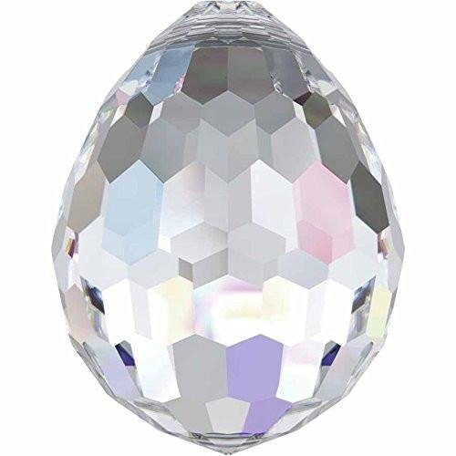 (6002 Swarovski Pendant Disco Ball | Crystal AB | 15mm - Pack of 1 | Small & Wholesale Packs)