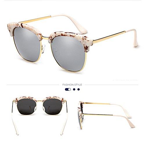 100 semi de turismo de polarizadas gafas de marco Gafas montura conducción B A ZHIRONG UV400 Color sin sol protección nSFWfxH
