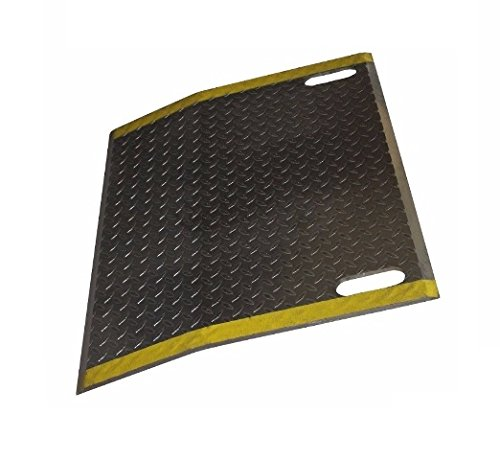 Dock Plate with Slots for Handles 60'' Wide x 24'' Long (4300# Cap) (Extra Wide) by Economizer