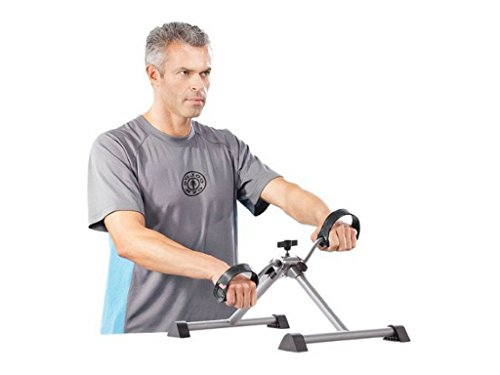 Gold s Gym Folding Upper Lower Body Cycle with Monitor